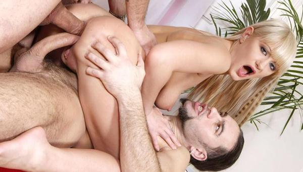 Anita B - DP For a Blondie - TeenMegaWorld.net (SD, 406p) [DAP, DP, Anal, Threesome, MMF, Teen, Russian, Group sex]