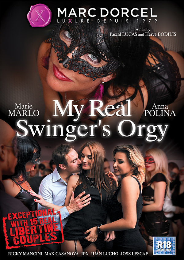 Marc Dorcel - Anna Polina, Marie Marlo [My Real Swingers Orgy] (WEBRip/SD 540p)