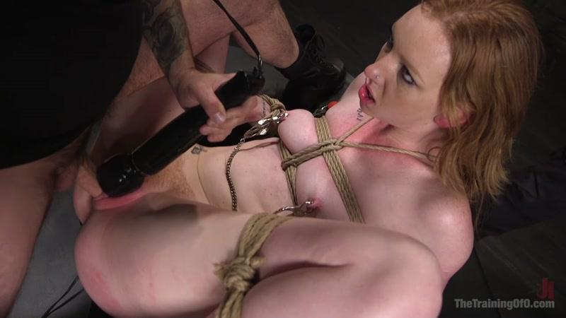 Katy Kiss (Hot Redhead Katy Kiss Trained to be a Better Slut / 27.05.2016) [TheTrainingOfO, K1nk / HD]
