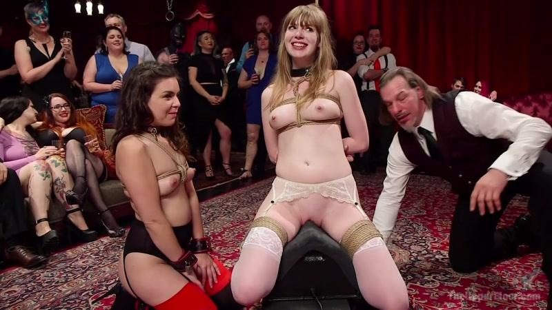 Juliette March, Dolly Leigh (Virginal Pussy Slave Fucked For First Time on Camera /  27.05.16.) [Th3Upp3rFl00r, K1nk / HD]
