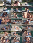 Cathy Heaven : MeetSuckAndFuck : Crazy meet & fuck by the pool [400p]