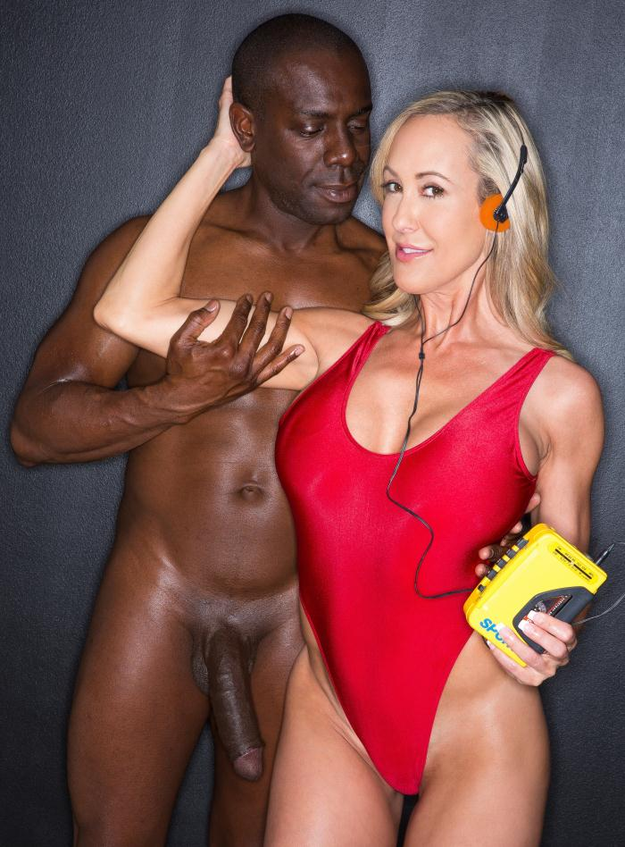 Black Porn - Brandi Love - Hot Blonde Wife Takes a Huge Black Cock  [HD 720p]