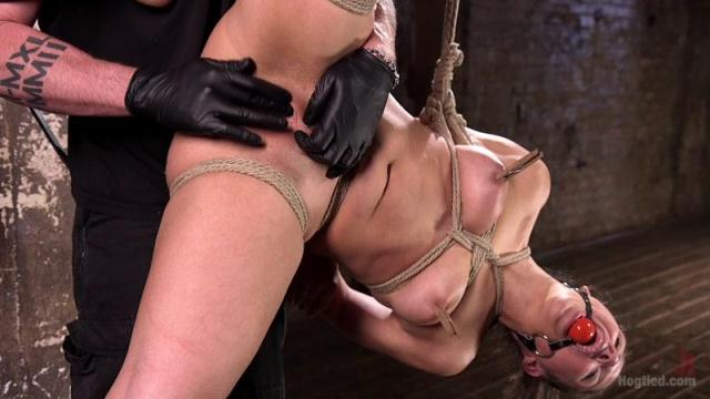 Kink - Masochistic Pain Slut in Bondage, Tormented, and Used for Her Holes [HD, 720p]