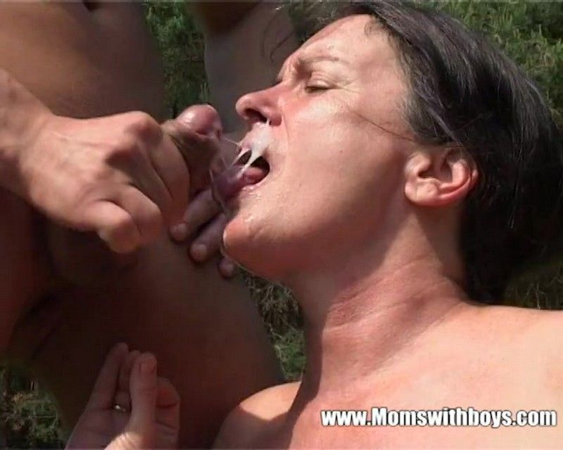 Agneta and Farm Boy Gets Tall Mature Slut Horny - Agneta Cover