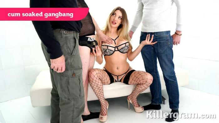 Tamara Grace - Cum Soaked Gangbang (Group sex) [SD, 360p]