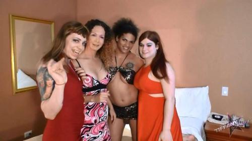 Nikki Montero, Tiffany Starr, Trixxy, Morena - Super Fuckin Orgy! [HD, 720p] - Shemale