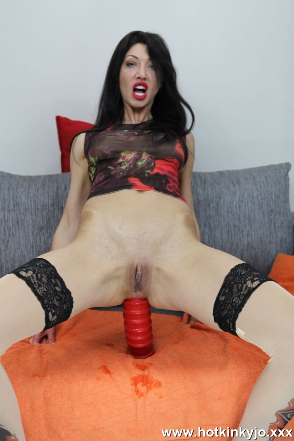 HotKinkyJo.XXX - HotKinkyJo - Red anal terrorist fuck [FullHD 1080p]