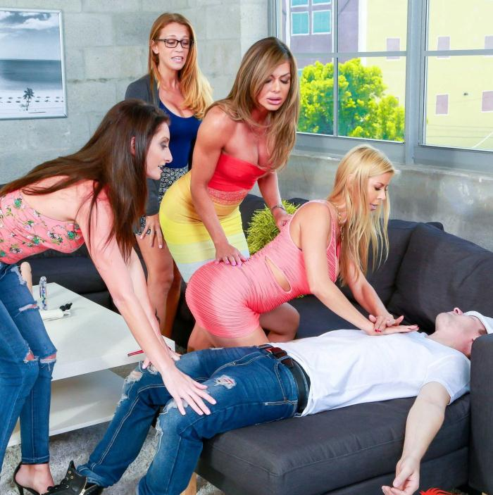 DigitalPlayGround: Alexis Fawx, Jessy Jones, Nina Dolci - MILF Sex Toy Party  [HD 720p] (1.10 GiB)