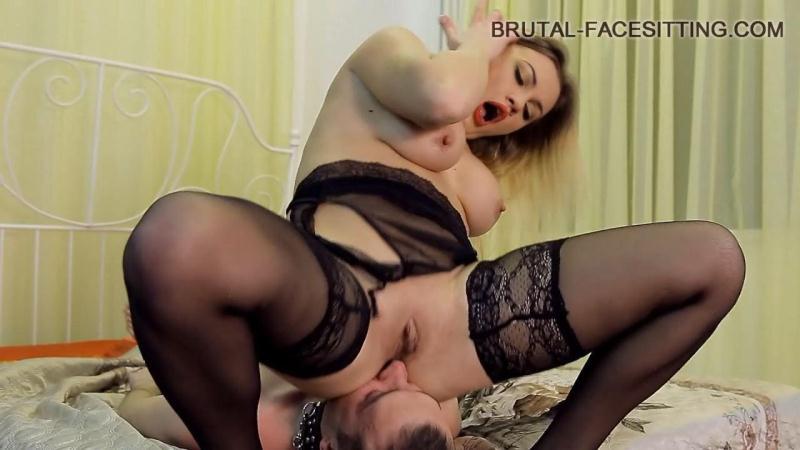 Brutal Facesitting - Mistress Luisa (Facesitting / Femdom / 15.05.2016) [HD]