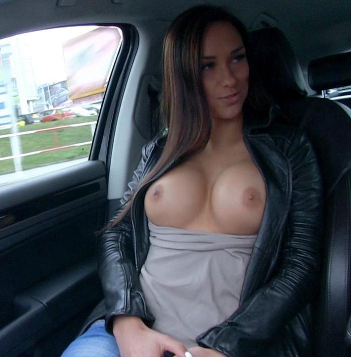 Mofos - Victoria Sweet [ Brunette Gets in a Strangers Car] (SD 480p)