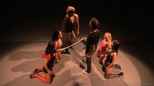 Arteya, Nataly Gold, Dolly Diore, Brittany Bardot, Lauren Minardi - Reverse Gangban [HD, 720p] - Russian