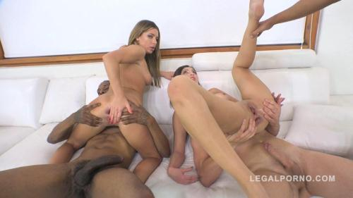 LegalPorno.com [Ally Breelsen & April Storm anal & DP mini orgy with 3 guys RS218] SD, 480p