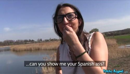 [Hard Cock for Spanish Pussy Outside] SD, 368p