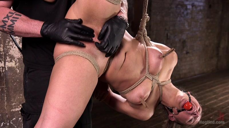 Abella Danger (Masochistic Pain Slut in Bondage, Tormented, and Used for Her Holes / 26-05-2016) [HogTied, K1nk / HD]