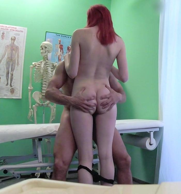 FakeHospital: Anne Swix - Cute Redhead Rides Doctor for Cash  [FullHD 1080p]  (Nurse, Hidden Camera)
