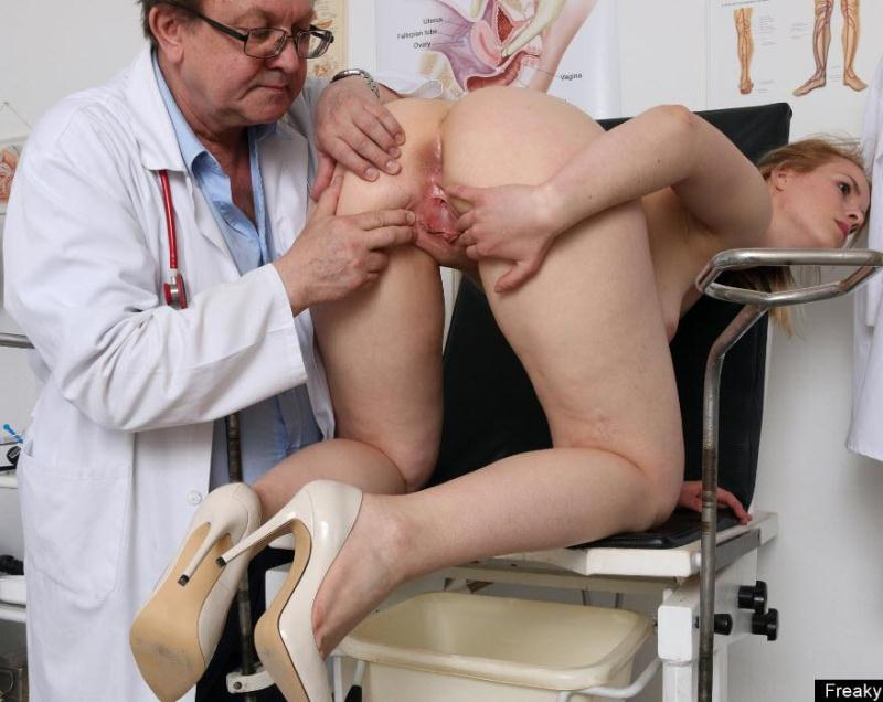 ExclusiveClub.com/FreakyDoctor.com: Ebba - 23 years girls gyno exam [HD] (1.32 GB)