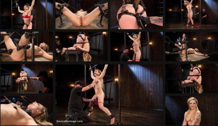 Kink.com - Sexy Blonde Whore is Brutalized in Grueling Bondage (BDSM) [HD, 720p]