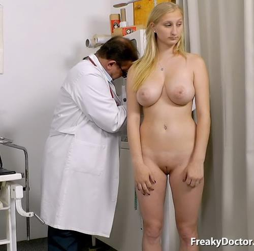 Ingrid - 18 years girls gyno exam (2015/SD)