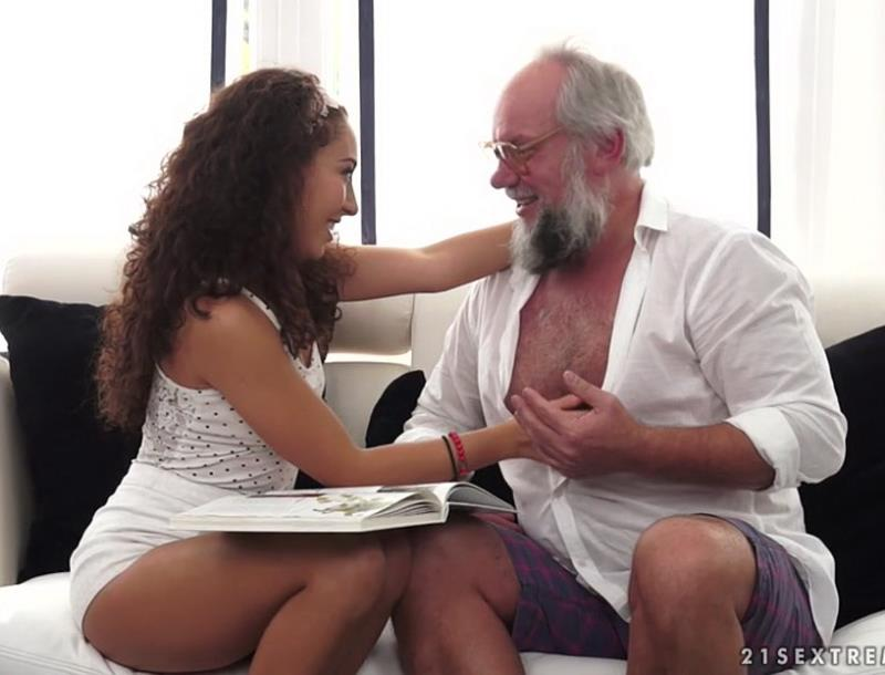 GrandpasFuckTeens - Diya Noir - A Sexy Spanish Lesson Plan [2016 SD]