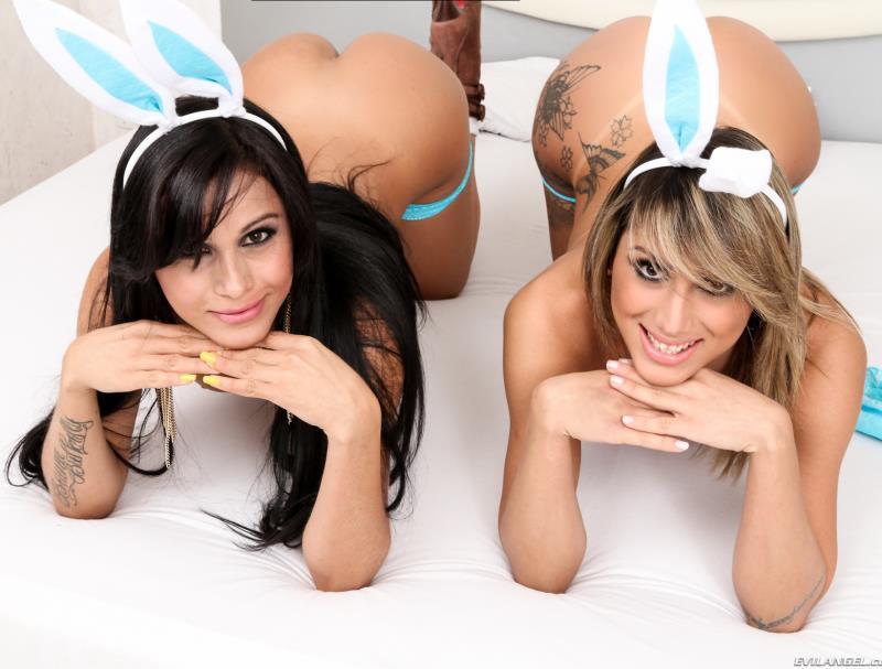 EvilAngel - Bruna Butterfly, Juliana Souza - TS Playground 20 [2015 FullHD]