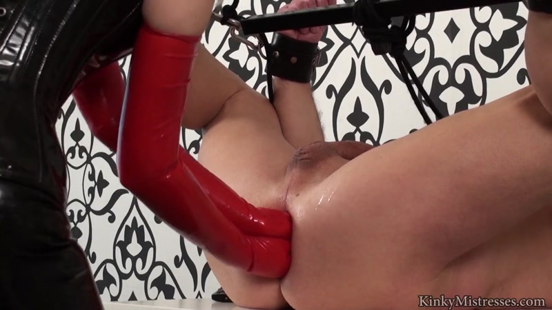 Kinky Mistresses - Double Anal Fisting (8 May 2016) [HD]