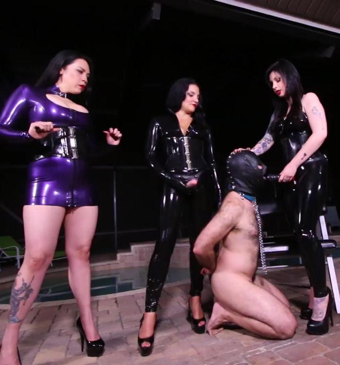 ClubDom - Michel Lelacy, Lydia Supremacy, Lynn Pops [Fuck Puppet For Rubber Girl-Gang] (FullHD 1080p)