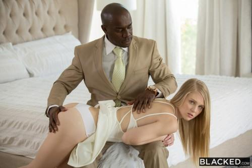 Blonde Teen Punished and Dominated by Black Man (Interracial) [SD, 480p]
