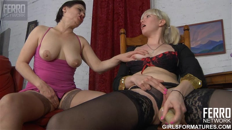 Ferro Network - g1057 - Elsa, Natali - Part 2 (Girls For Matures / Russian Lesbians) [HD]