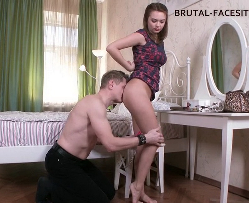 Brutal-Facesitting - Lola Shine - Brutal Facesitting [2016 SD]