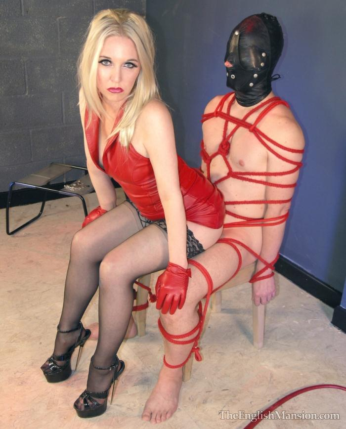 TheEnglishMansion - Mistress Sidonia [Rope Tied and Fucked] (HD 720p)