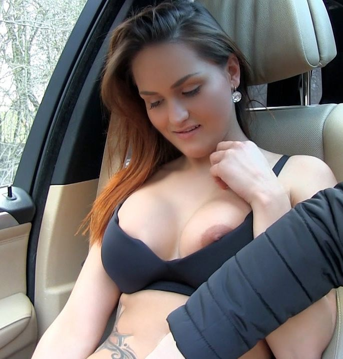 Mofos: Barbara Bieber - Busty Perv Flashes her Boobs  [HD 720p]  (Public)
