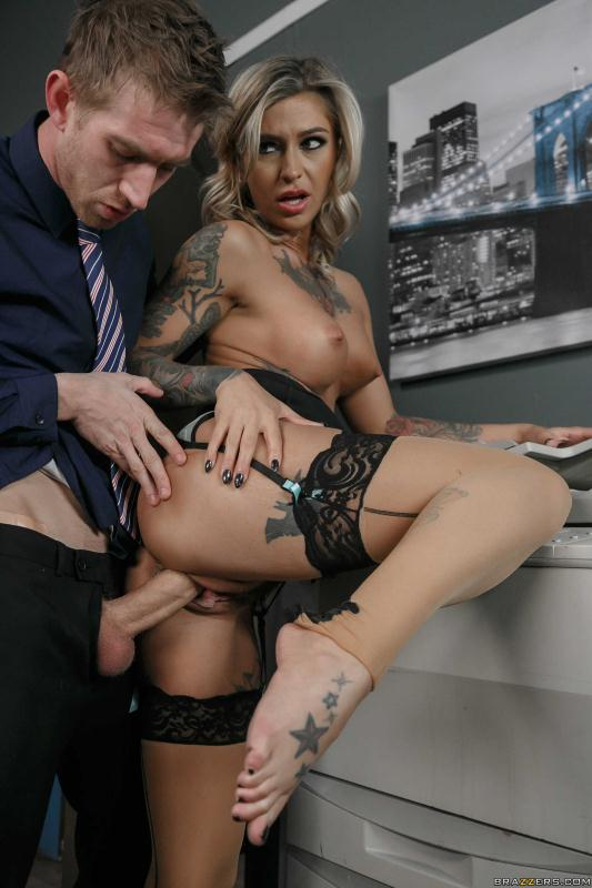 Big Tits At Work - Kleio Valentien - The C.E.Hoe [2016 SD]