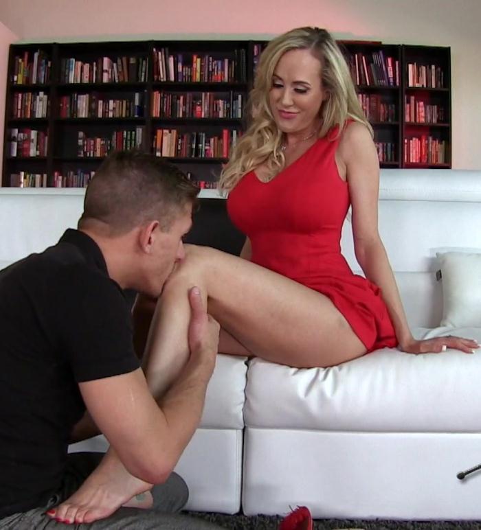 FemdomEmpire: Brandi Love - Mean Milf Foot Slave  [FullHD 1080p]  (Femdom)