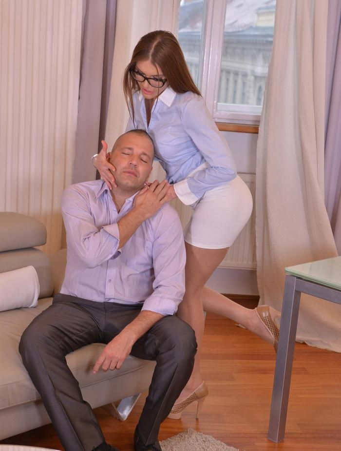 DDFNetwork: Kitana Lure - Hump That Hottie - A Secretarys Wet Dream Comes True  [FullHD 1080p]  (Anal)