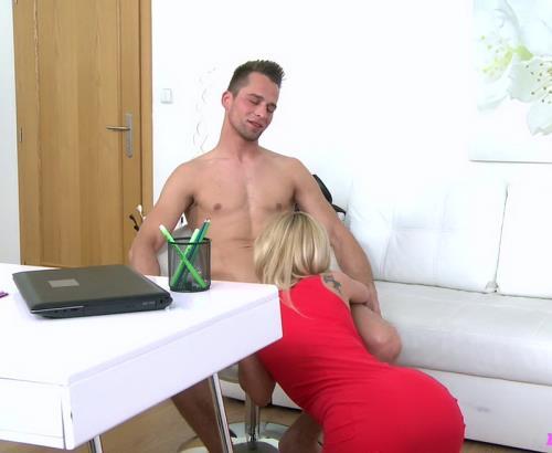 Vina Caitlin - Horny New Agent Loves Studs Cock (2016/HD)