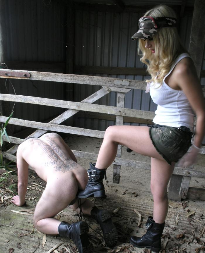 TheEnglishMansion: Mistress Nikki - Military Drilling  [HD 720p]  (Femdom)