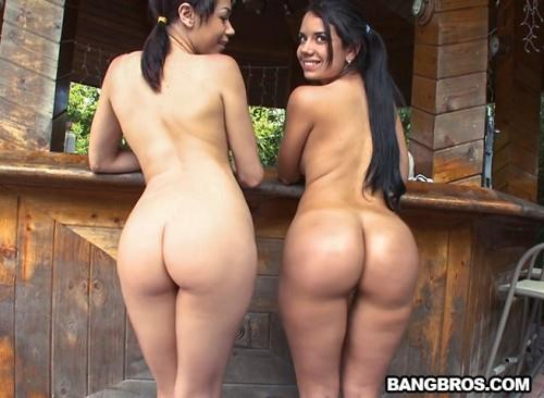 Sophia Summer and Bailey get sweaty as they show off their Amazing Asses (SD, 480p)