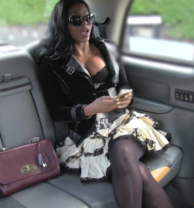 Sex in Taxi - Jasmine Webb - Ebony Gets Down and Dirty  [HD 720p]