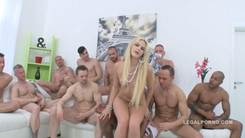 Legal Porno - Katie Montana - Crazy Gangbang with Sexy Blonde Girl - SZ1291 (Anal / DP / 25.05.16) [SD]