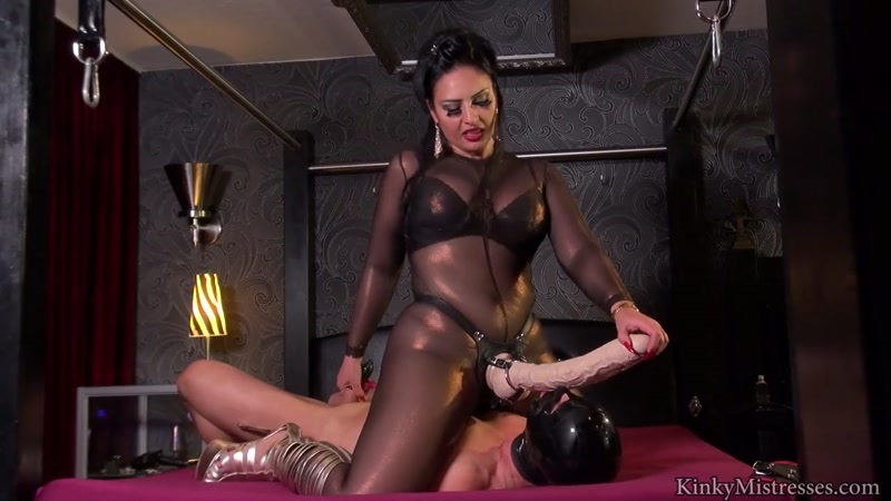 Kinky Mistresses - Mistress Ezada - A Real Strapon Bitch (6 May 2016) [HD]