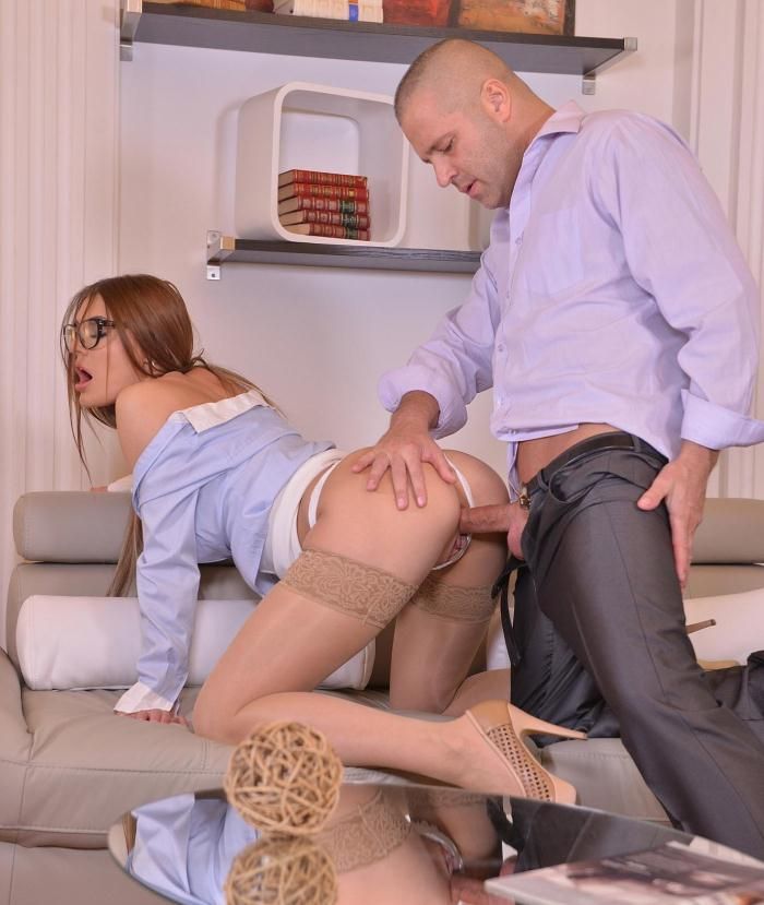 DDFNetwork: Kitana Lure - Hump That Hottie - A Secretarys Wet Dream Comes True  [HD 720p]  (Anal)