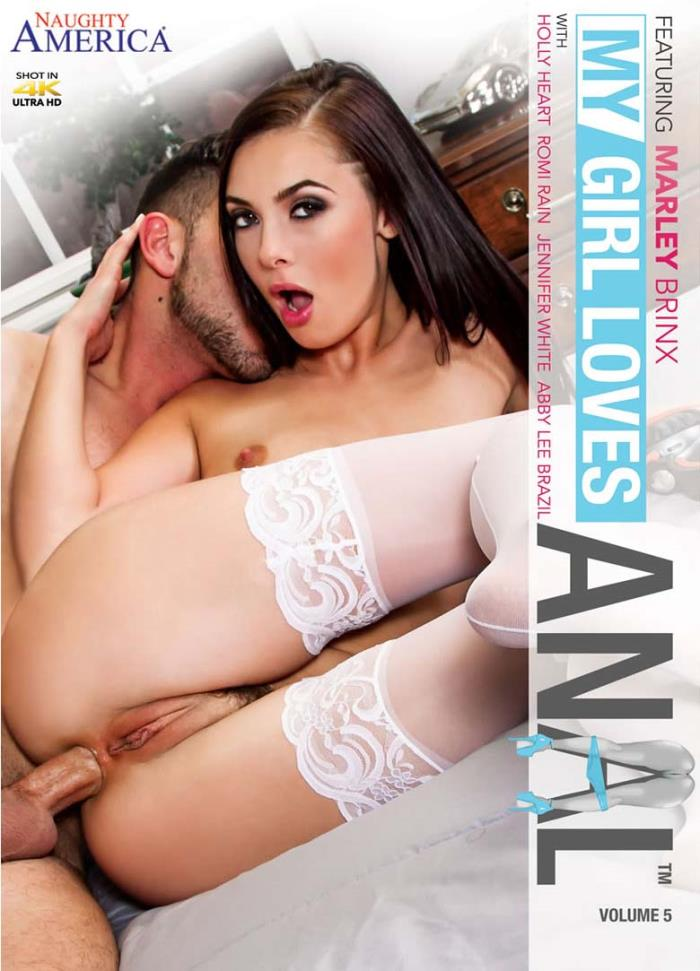 Naughty America - Abby Lee Brazil, Jennifer White, Marley Brinx, Romi Rain, Holly Heart [My Girl Loves Anal 5] (WEBRip/SD 480p)
