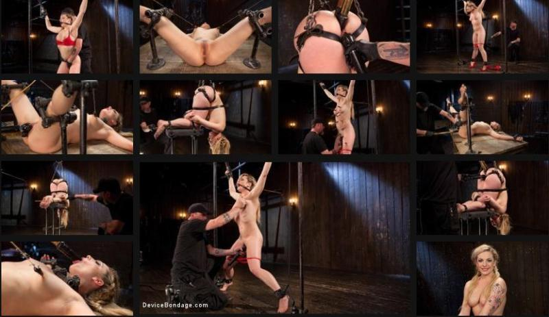 Kink.com: Sexy Blonde Whore is Brutalized in Grueling Bondage [HD] (1.95 GB)
