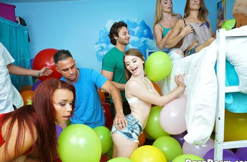 Dare Dorm - Amateurs - Balloon Party [2016 SD]