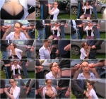Demona Dragon - Dogging Debut (SD, 360p) [Outdoor, Brunette, MILF, Glasses, Big Tits, Tattoo, Piercing, Blowbang, Oral, Cum On Tits, Group sex]