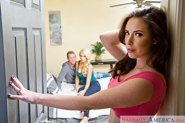 My Pornstar - Casey Calvert, Kenzie Taylor - Threesome BGG  [SD 480p]