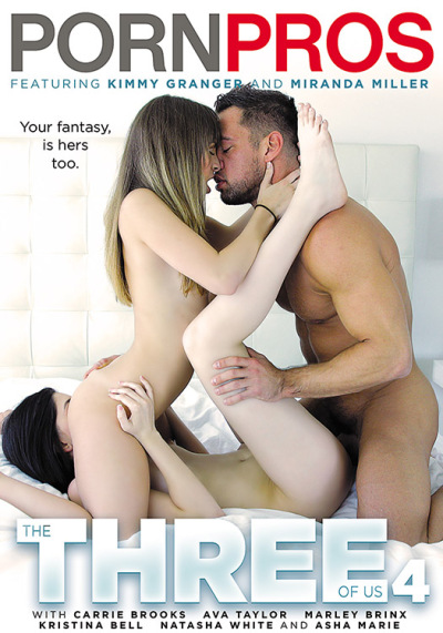 PornPros - Carrie Brooks, Ava Taylor, Marley Brinx, Kristina Bell, Natasha White [The Three Of Us 4] (WEBRip/SD 480p)