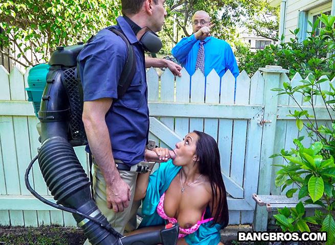 BangBrosClips/BangBros - Priya Price - Horny Priya Price Fucks The Gardener [2016 HD]