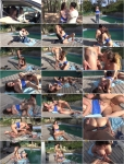 Cathy Heaven : MeetSuckAndFuck : Crazy meet & fuck by the pool [1080p]
