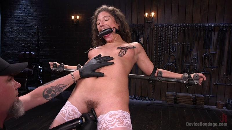 Abella Danger (Young Pain Slut Devastated in Grueling Bondage, Tormented, and Cumming / 27.05.2016) [DeviceBondage, K1nk / HD]